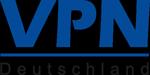 VPN Deutschland · Unternehmensvernetzung · Sicherheit · Internet · Logo